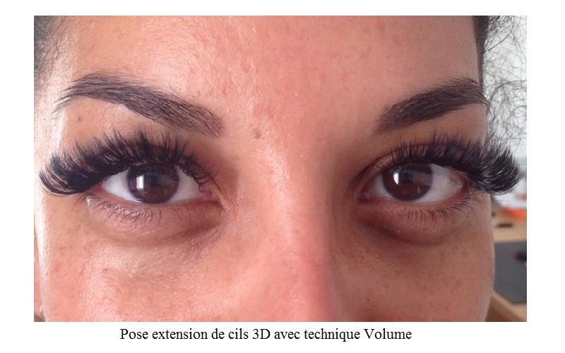 Beauty cils extension de cils nos r alisations - Salon 3d extension de cils ...