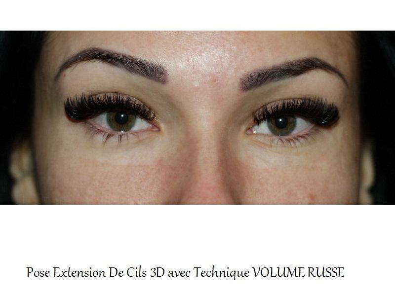 Beautycils extension de cils nos r alisations - Salon 3d extension de cils ...